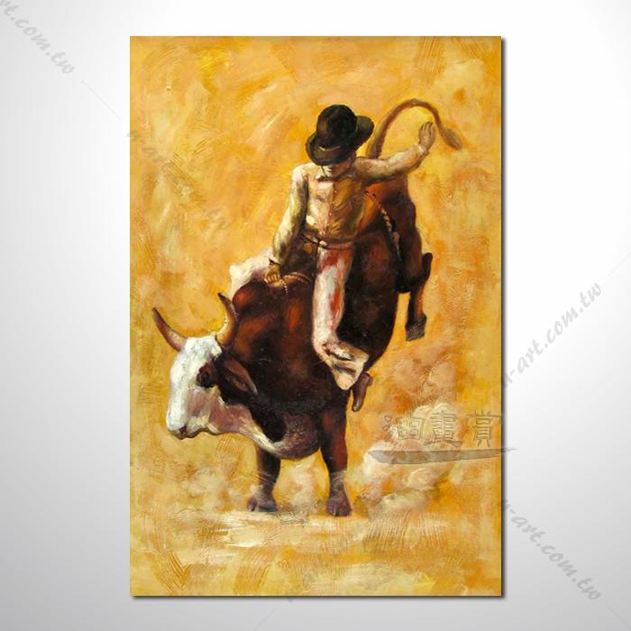 动物王国 斗牛士02 油画 装饰品 山水画 艺术品 插画 无框画 浮雕立体