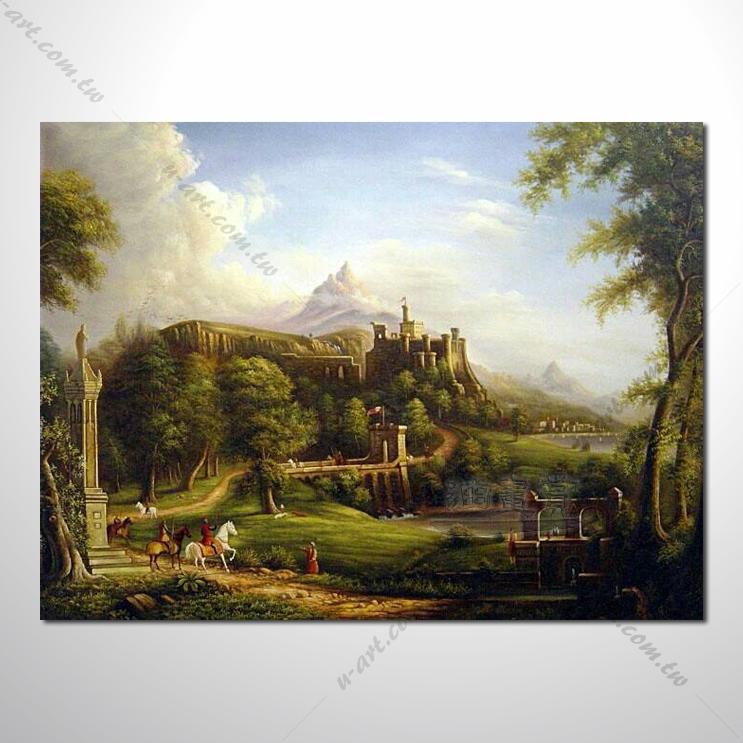 欧式风景39 油画 装饰品