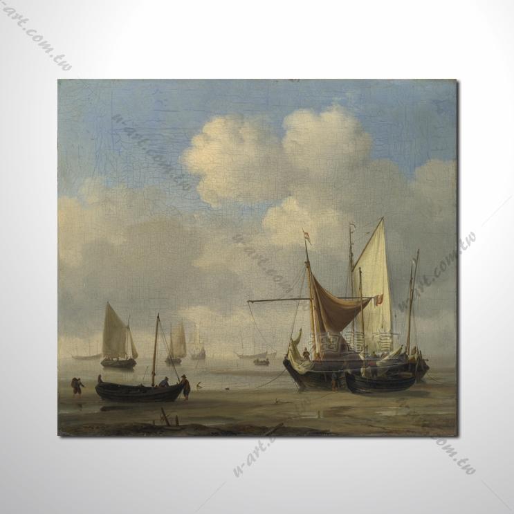 希腊船景12 风景 油画 装饰品 山水画 艺术